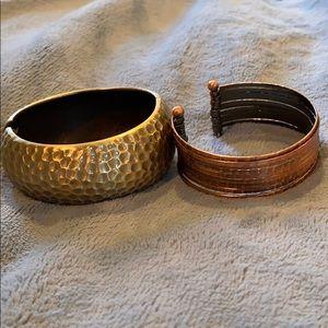 Mixed metal Bracelet bundle